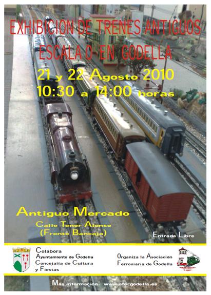 Exposición de Modelismo Ferroviario y Presentación de Maqueta Escala 0