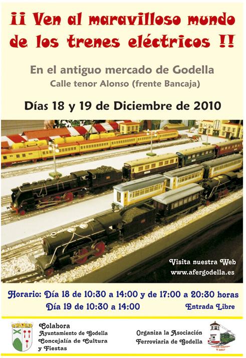 Jornada de Puertas Abiertas y modelismo ferroviario Diciembre de 2010