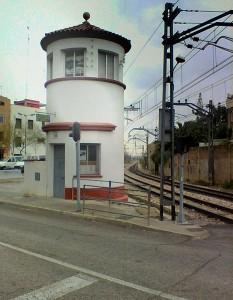 Torre guardabarreres de lAssociació Ferroviària de Godella