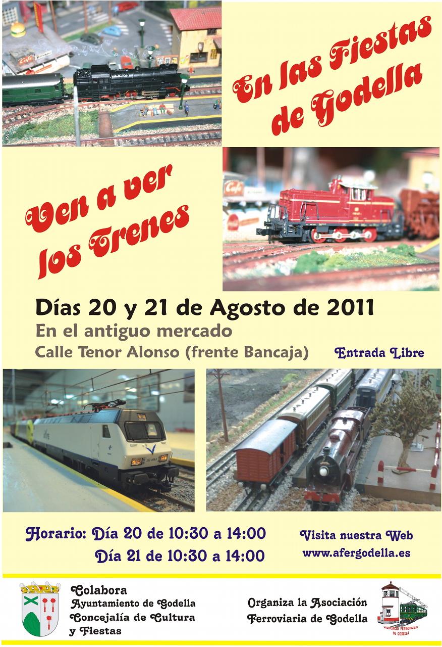 Jornadas de puertas abiertas y modelismo ferroviario agosto 2011