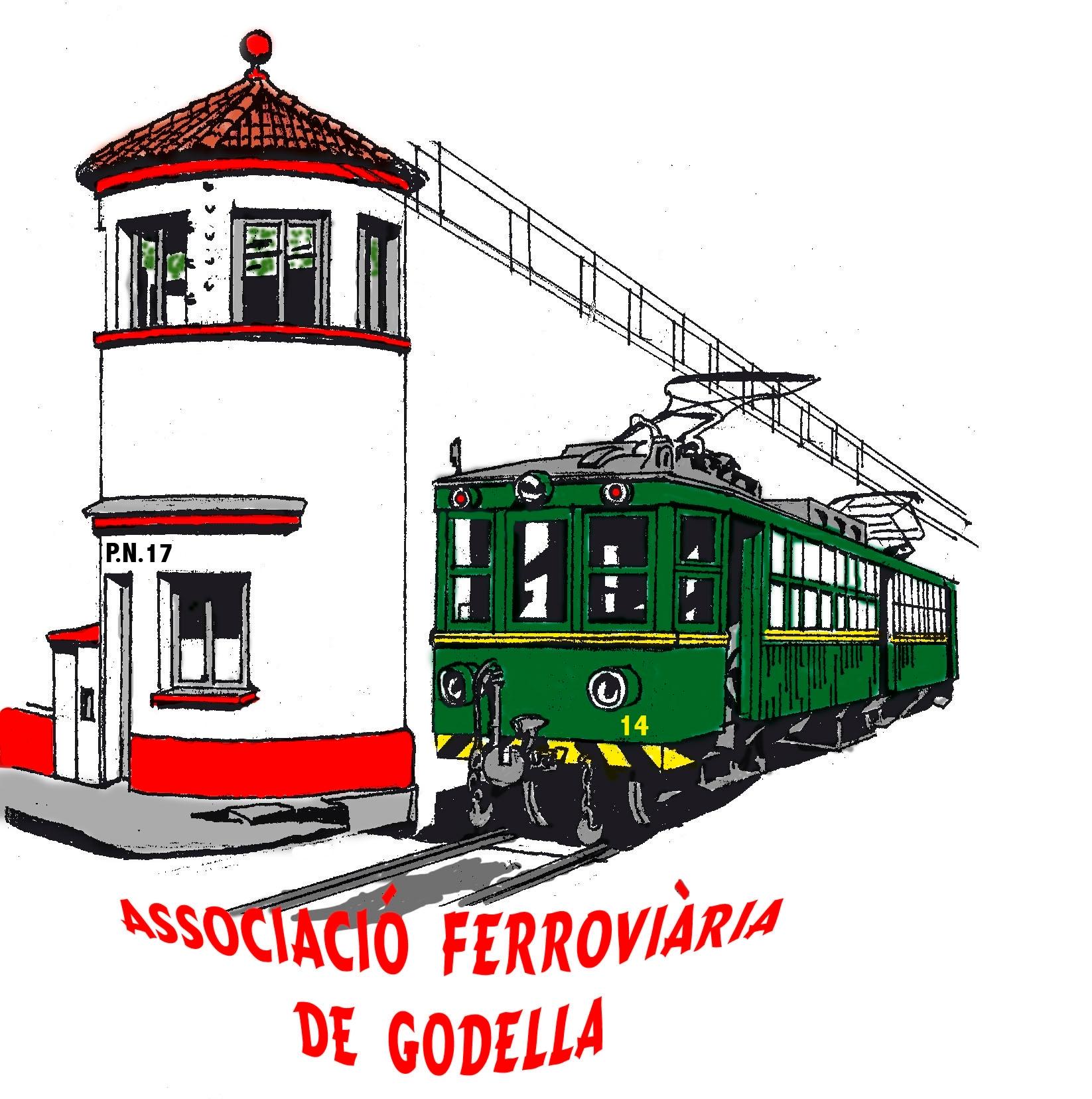 Emblema de l'Associació Ferroviària de Godella