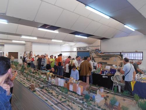 Jornada de puertas abiertas y modelismo ferroviario edición diciembre 2011
