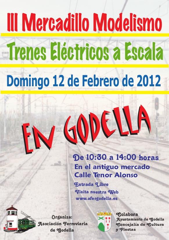 III Mercadillo y exhibición de modelismo ferroviario (12 de Febrero 2012)