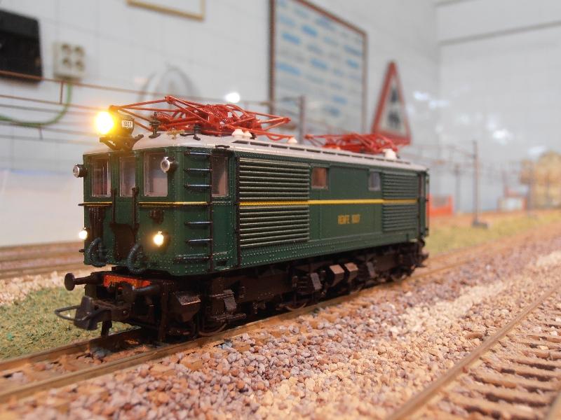 Acciones realizadas en el mes de noviembre / modelismo ferroviario
