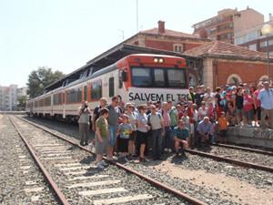 Crónica viaje tren reivindicativo València-Alcoi 29 de Junio de 2013