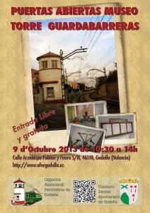 Puertas Abiertas Museo Ferroviario Torre Guardabarreras