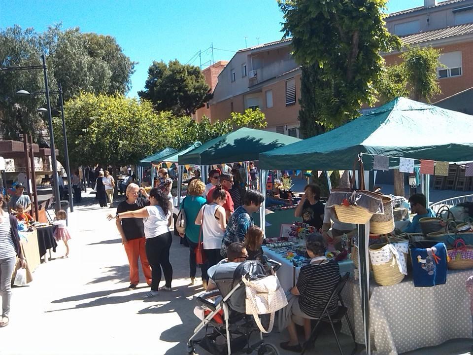 Mercadillo solidario de Rocafort - La Pedrera
