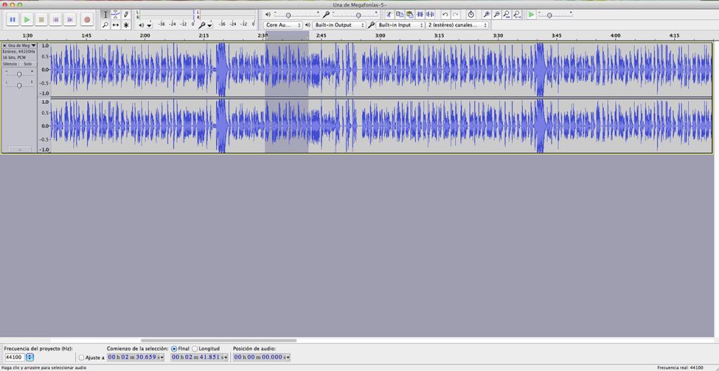 Edición de audio con Audacity