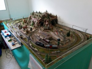 Maqueta Escala HO Corriente Alterna