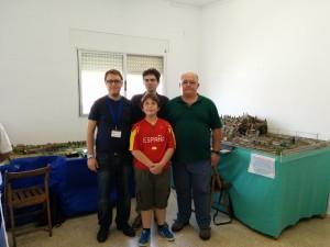 Socios participantes en la exposición