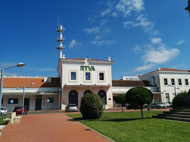 Antigua estación de Córdoba, hoy sede de la Radio Televisión Andaluza