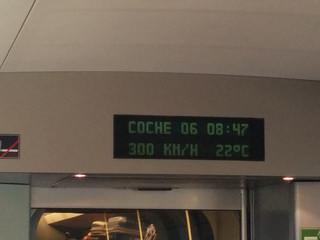 ¡A 300 km/h!