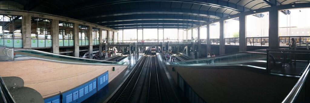 Panorámica de la estación de Córdoba-Central de Adif