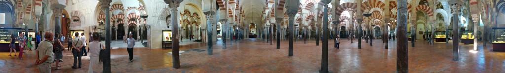 Panorámica de la Mezquita de Córdoba