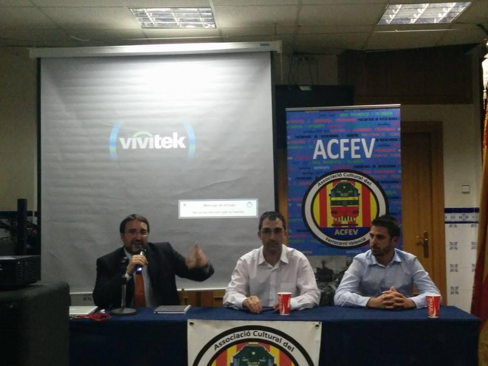 Jornadas sobre Ferrocarril Falla Tomasos-Carles Cervera
