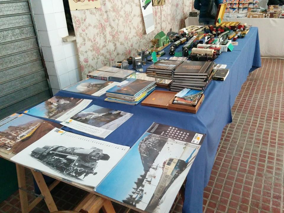Mercadillo de Modelismo Ferroviario en l'Associació Ferroviària de Godella