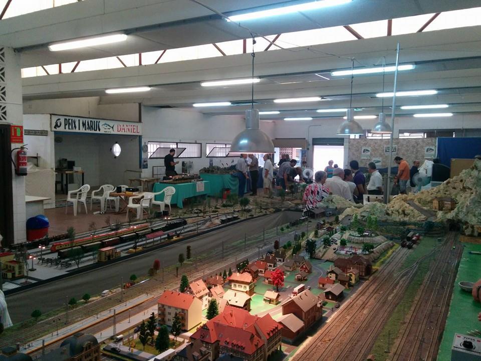 Exhibición de Modelismo Ferroviario - Associació Ferroviària de Godella
