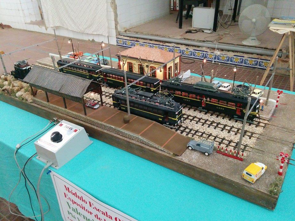 Módulo estación de la Vallesa e escala 0m