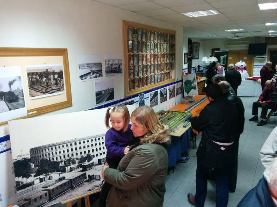 Exhibición de Modelismo Ferroviario por parte de l'Associació Ferroviària de Godella