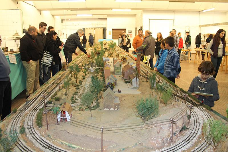 Maqueta de escala 0 de la Associació Ferroviària de Godella