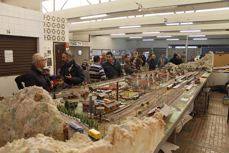 Resumen de la Exhibición de Modelismo Ferroviario Diciembre 2014