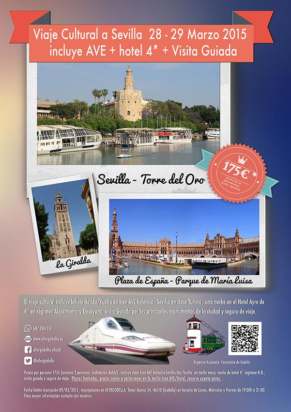 Viaje Cultural a Sevilla, con AVE,Hotel 4* y Guía