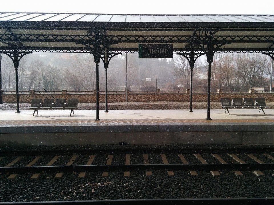 Llueve, nieva y hace sol, en Teruel todo es posible