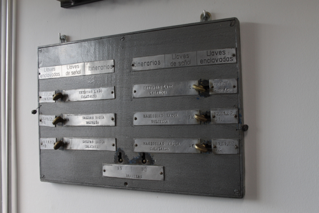 Enclavamiento sistema Bouré conservado y restaurado por ATAF