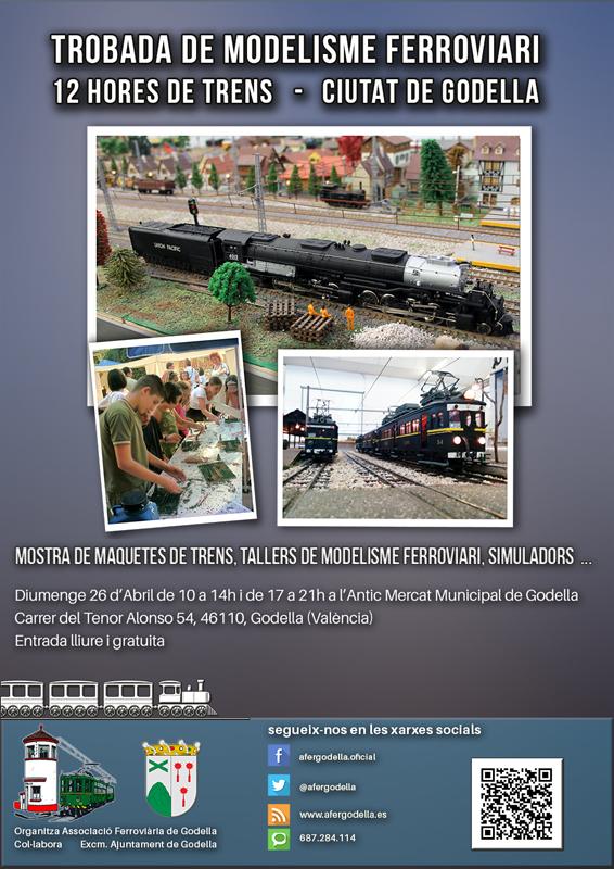 Trobada de modelisme ferroviari Ciutat de Godella