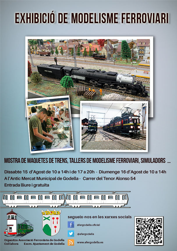 Exhibición de Modelismo Ferroviario – Fiestas Patronales de Godella 2015