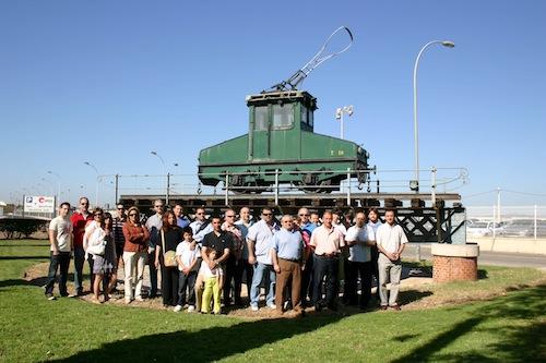 Visita a instal·lacions de Ferrocarrils de la Generalitat Valenciana a València-Sud