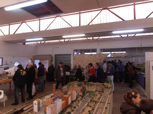 Resumen de la Exhibición y Mercadillo de Modelismo Ferroviario Diciembre 2012