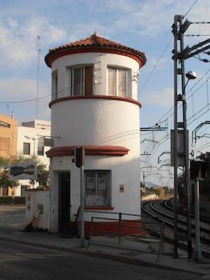 Primeras puertas abiertas museo ferrocarril Torre Guardabarreras