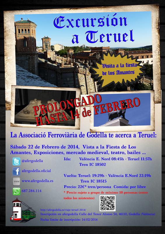 Visita fiesta de los Amantes de Teruel, 22 de Febrero de 2014