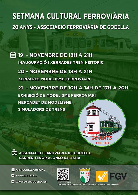 20 Años de la Associació Ferroviària de Godella