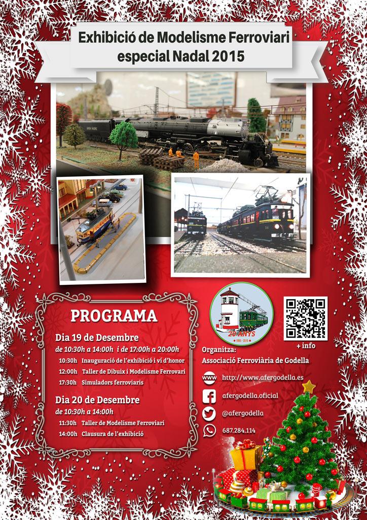 Exhibición de Modelismo Ferroviario Navidad 2015