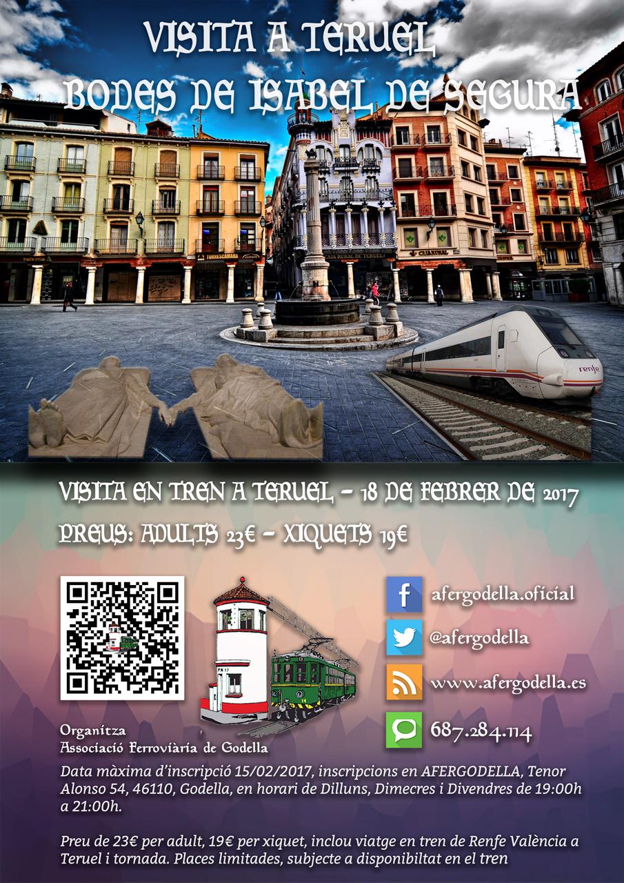 Visita fiesta de los Amantes de Teruel, 18 FEB 2017