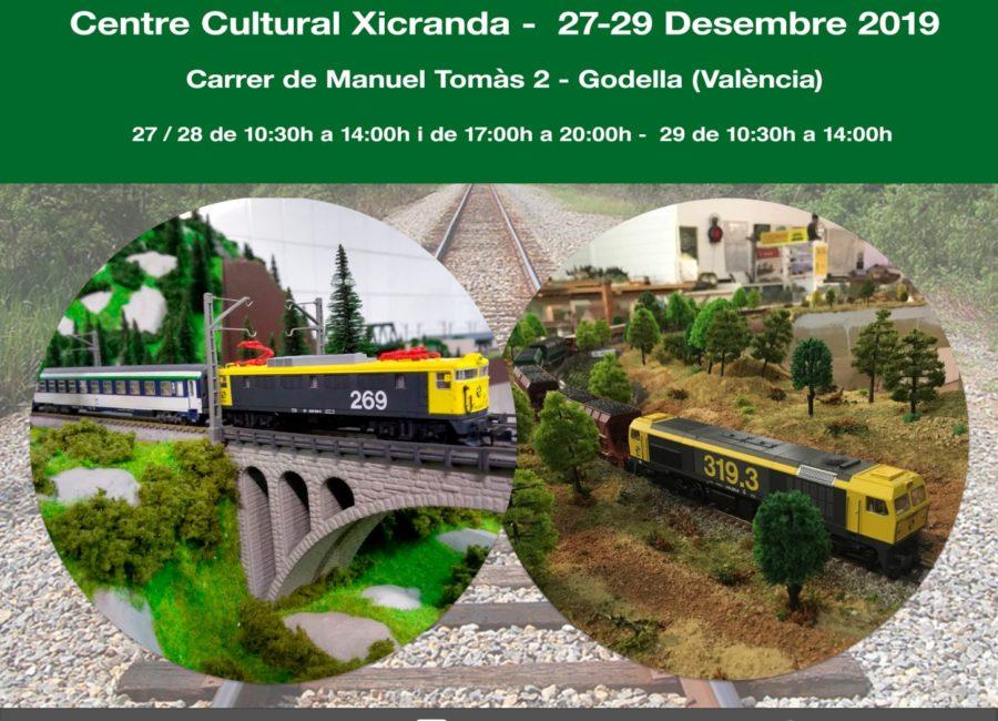 Exhibición de Modelismo Ferroviario Diciembre 2019