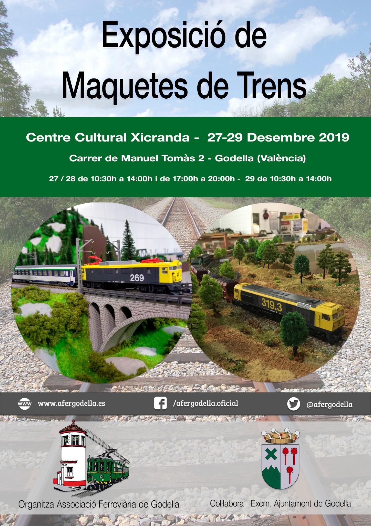 Exhibición de Modelismo Ferrovario - Diciembre de 2019